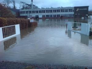 Flood at James Walkers the day after (c) Shalana Lambert