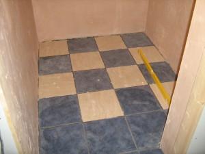 check floor tile pattern
